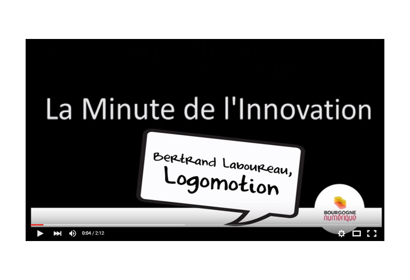 VIDEO  / La minute de l'innovation de Bourgogne Numérique